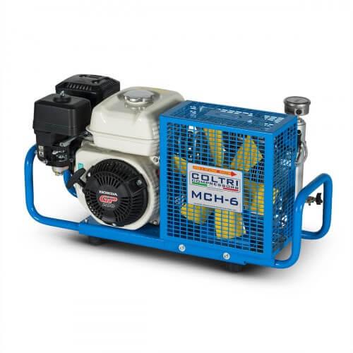 Coltri MCH 6 gasoline scuba compressor
