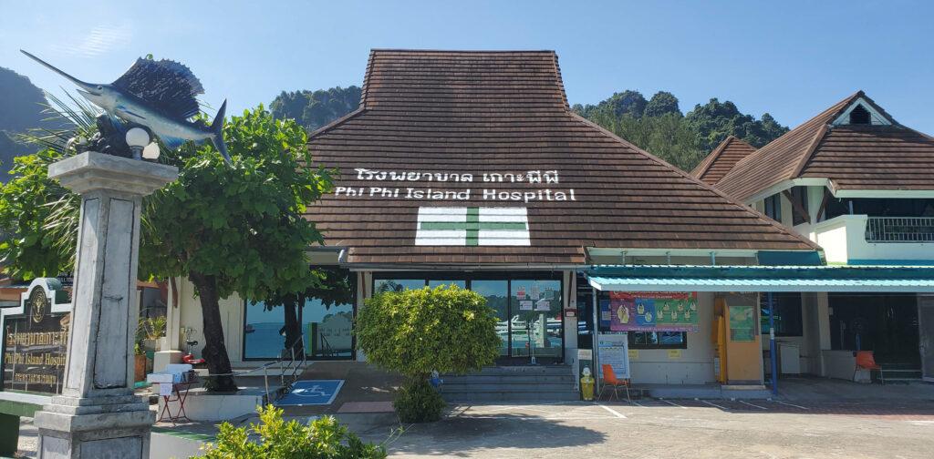 Public island hospital on Koh Phi Phi, Thailand