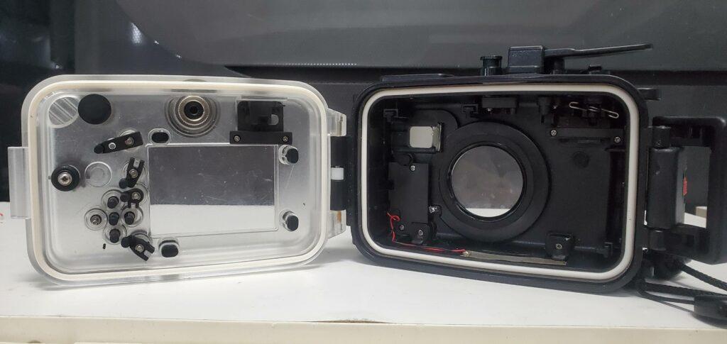 TG-6 underwater camera housing
