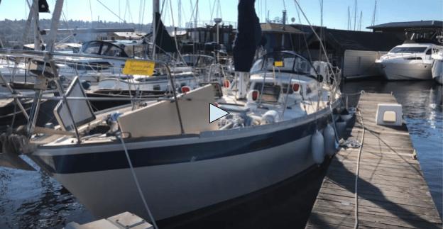 Bluewater Corbin 39 sailboat