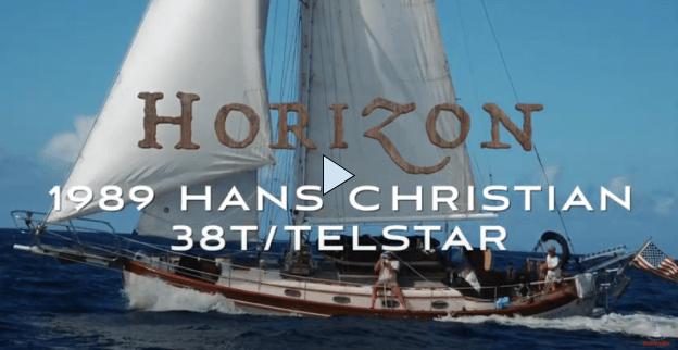 1989 Hans Christian 38 T sailboat