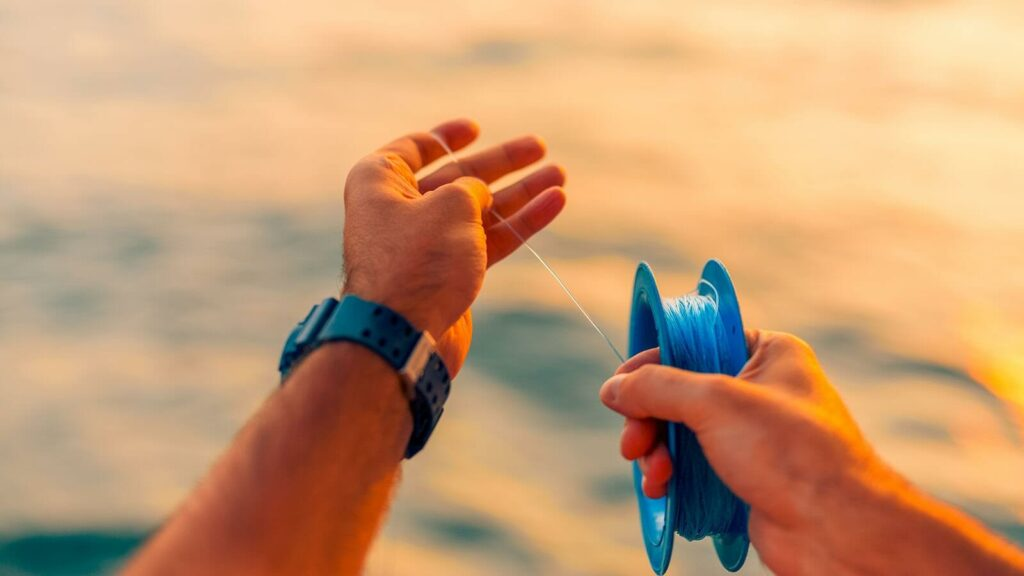 Handline fishing technique