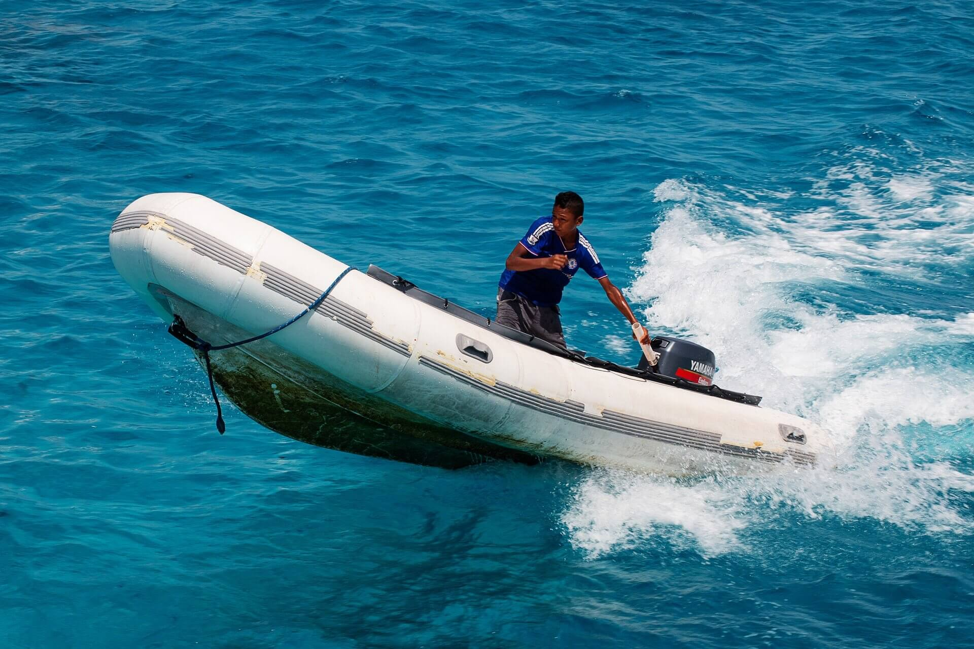 rigid inflatable dinghy powerful