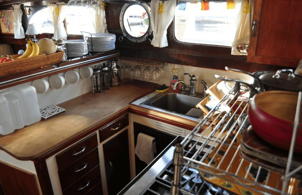 Setting Up The Perfect Boat Galley Yacht Cruising Lifestyle