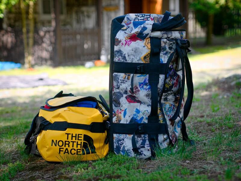 North Face Base Camp Duffel Bag for sailing