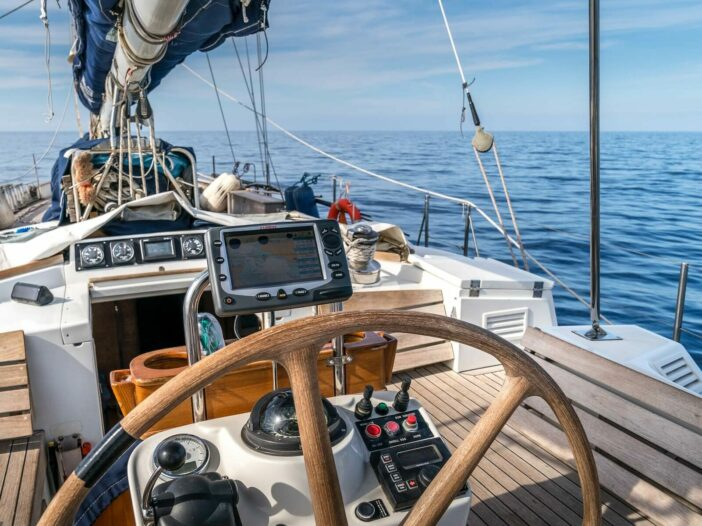 various sailing gear for circumnavigation