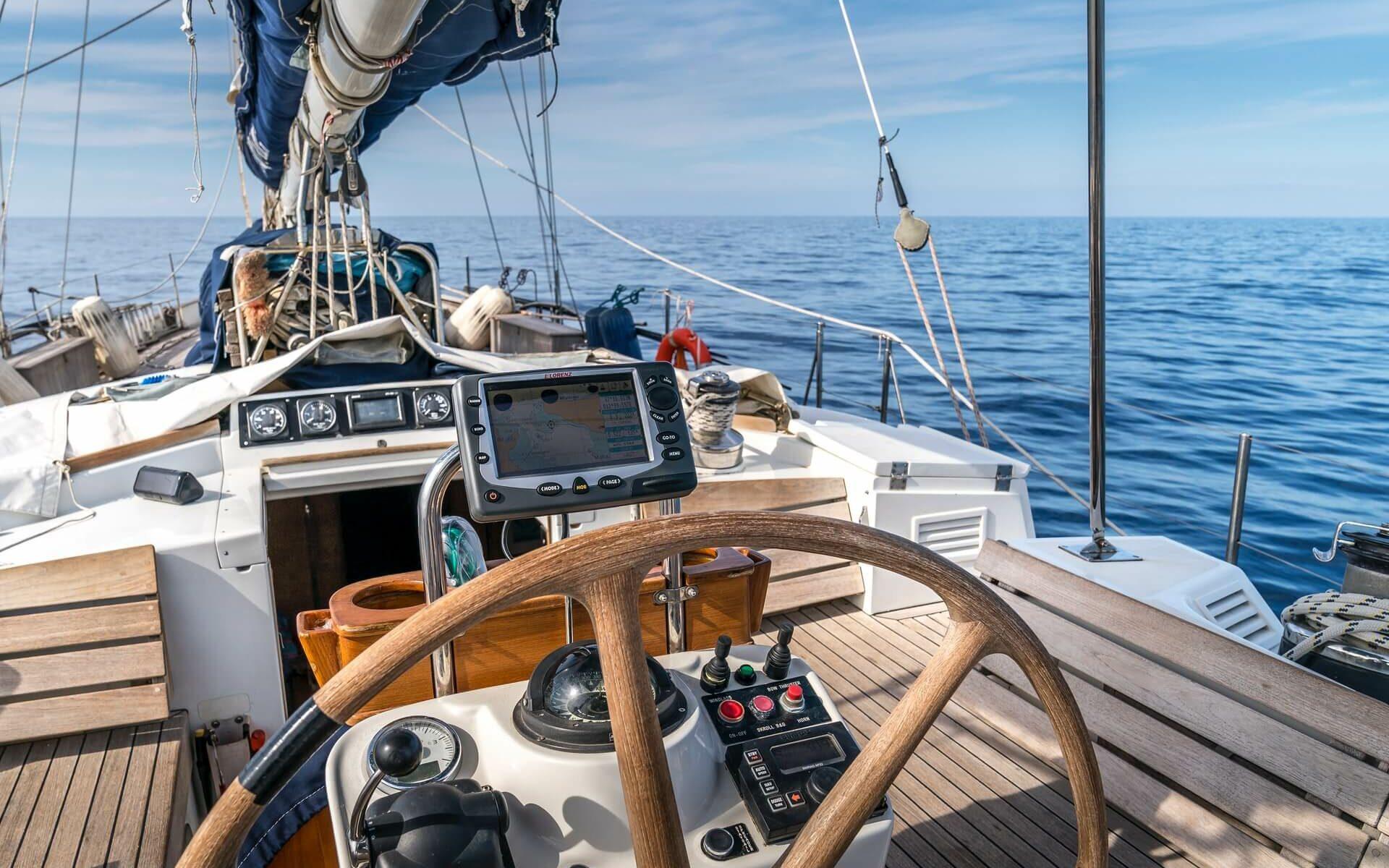 various sailing gear for global circumnavigation
