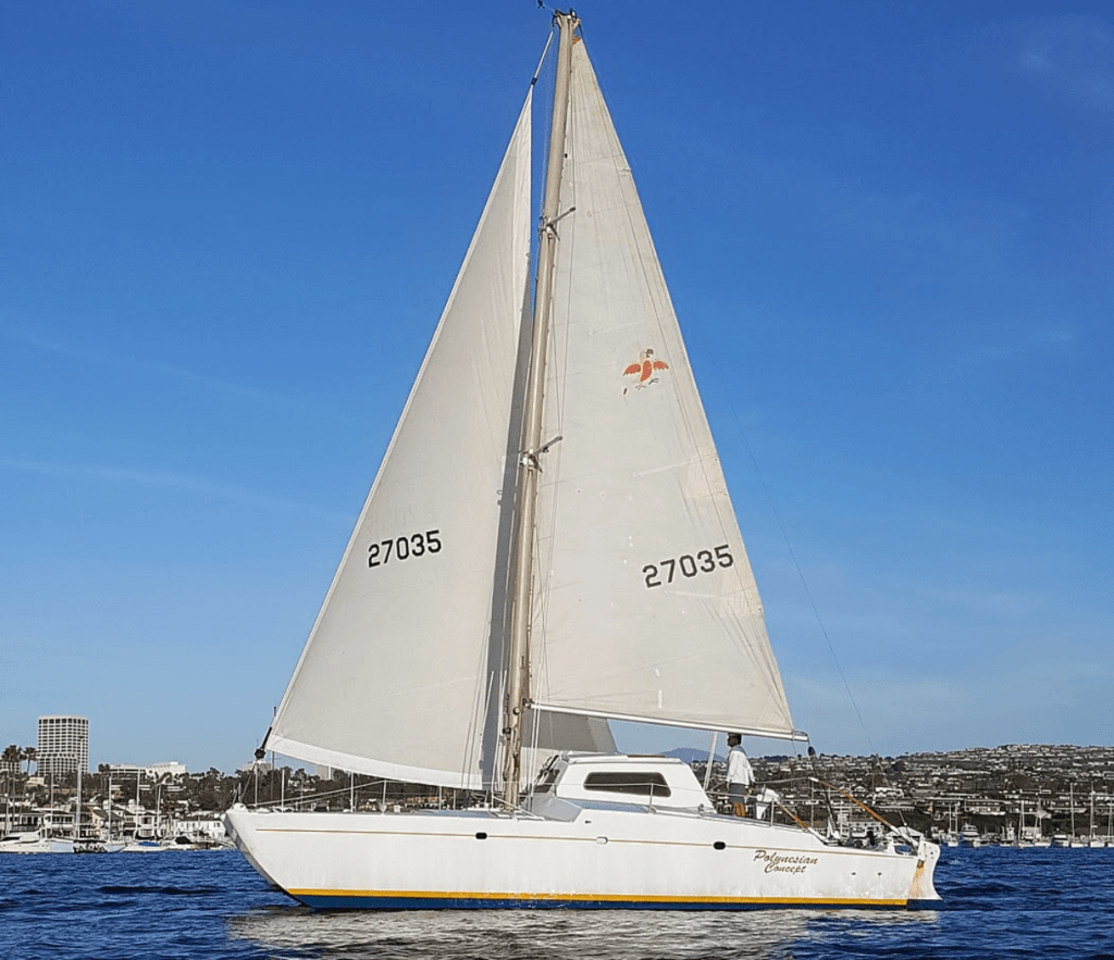 Screen Shot 2021 10 12 at 11.56.41 PM 1024x883 - 20 Blue Water Cruising Catamarans Under $100k